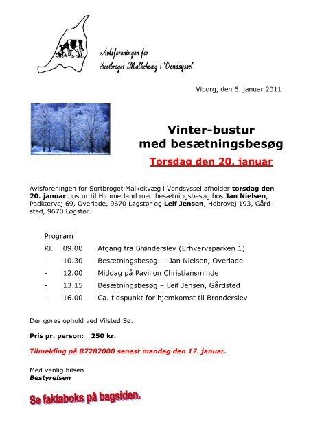 Vinter-bustur med besætningsbesøg - Dansk Holstein