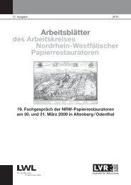 Restaurierungs- und Konservierungs - Arbeitskreis Nordrhein ...