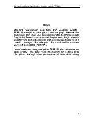 Ralat : Standard Perpustakaan Bagi Kolej Dan Universiti Swasta ...