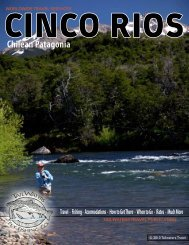 CINCO RIOS Chilean Patagonia - Tailwaters Fly Fishing Co.