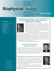 NovDec--08:Layout 1.qxd - Biophysical Society