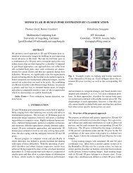MONOCULAR 3D HUMAN POSE ESTIMATION BY ...
