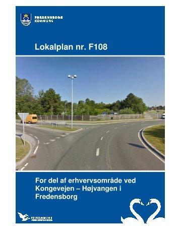 F108 Lokalplan for del af erhvervsområde ved Kongevejen-Højvangen