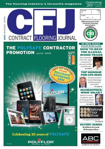 top honour for cfa man - Contract Flooring Journal