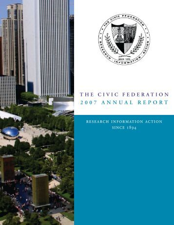 research information action - The Civic Federation