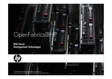 OpenFabrics@HP