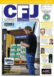 guides - Contract Flooring Journal