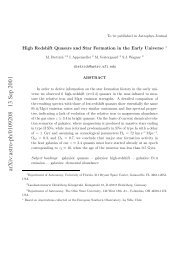 arXiv:astro-ph/0109208 13 Sep 2001 - University of Florida