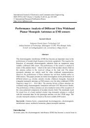 Performance Analysis of Different Ultra Wideband Planar Monopole ...