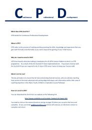 CPD Frequently Asked Questions