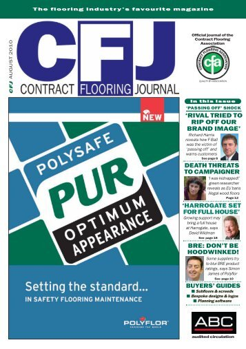buyers' guides - Contract Flooring Journal