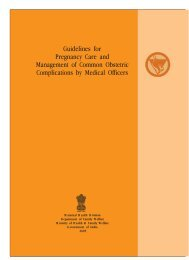 Guidelines for Pregnancy Care and Management of Common ...