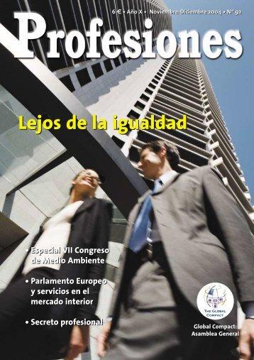 Lejos de la igualdad - Revista Profesiones