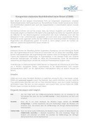 Kongenitale stationäre Nachtblindheit beim Briard (CSNB) - Biofocus