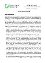3. Fall 2 Sachverhalt - Lehrstuhl für Öffentliches Recht II Prof. Dr ...