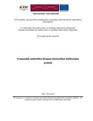 Trīspusējā sadarbība Eiropas Savienības dalībvalstu praksē