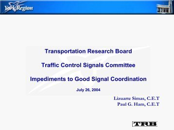 Impediments to Good Signal Coordination - Traffic Signal Systems ...