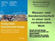 Presentation by Prof. Dr. Ursula Oswald Spring - Afes-press-books.de
