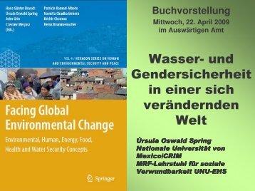 Presentation by Prof. Dr. Ursula Oswald Spring - Afes-press-books.de