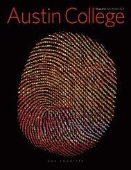 Magazine Fall/Winter 2012 - Austin College Magazine