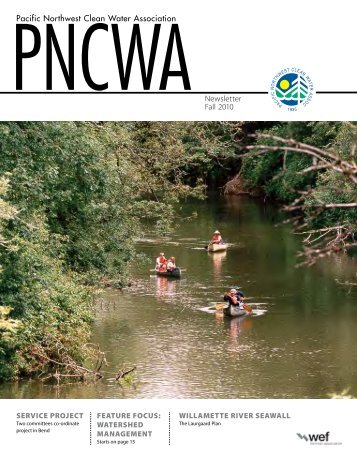 Pacific Northwest Clean Water Association Newsletter Fall ... - pncwa