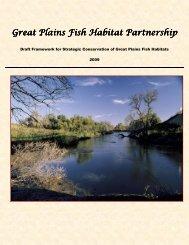 Strategic Conservation of Great Plains Fish Habitats - PrairieFish.org