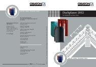 Dachplaner 2012 - Creaton AG