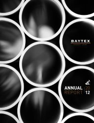 2012 Annual Report - Baytex Energy Corp.