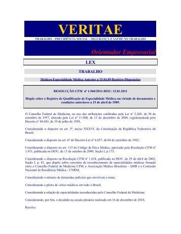 Orientador Empresarial LEX - Veritae