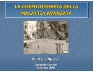 La chemioterapia della malattia avanzata ... - Oncologia Rimini