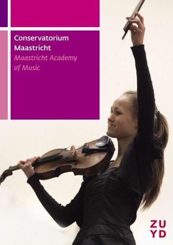 Conservatorium Maastricht Maastricht Academy of Music