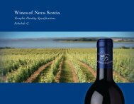 Wines of Nova Scotia Graphic Identity Specifications. - Winery ...