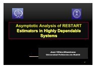 Asymptotic Analysis of RESTART Estimators in Highly ... - resim 2012