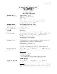 3-27-13 - Mexico Academy & Central School