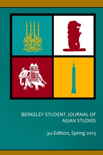 Third Edition Spring 2013 - Institute of East Asian Studies, UC ...