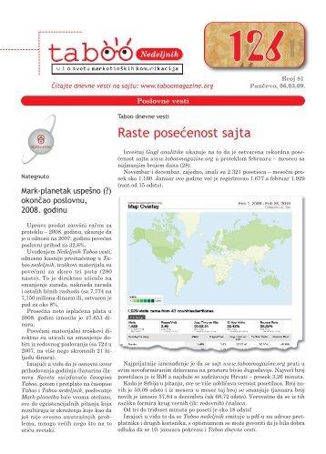 BROJ 81 (.pdf) - Taboo