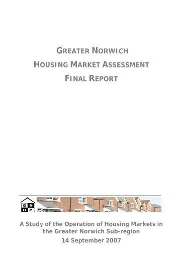 Greater Norwich Housing Market Assessment: final report [PDF ...