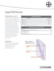 Hygard® BR750 sheet - Sheffield Plastics