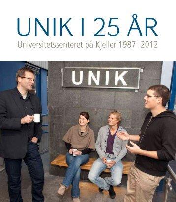 Jubileumsskrift - Unik