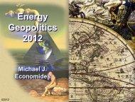 Energy Geopolitics 2012