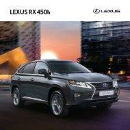 NOUVEAU LEXUS RX 450h - Toyota