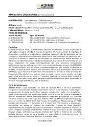 MAPAS AUTO-ORGANIZÁVEIS (SELF-ORGANIZING MAPS) - ADIMB