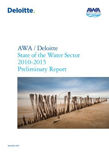 State of the Water Sector Survey - Australian Water Association