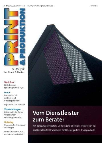 view - Druckstudio GmbH