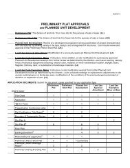 Preliminary Plat Approvals and Planned Unit ... - City of Bellevue