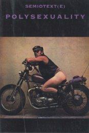 Semiotext(e): Polysexuality - Zine Library