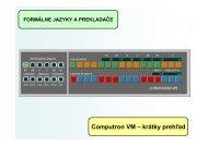 Computron VM - krátky prehlad - Hornad