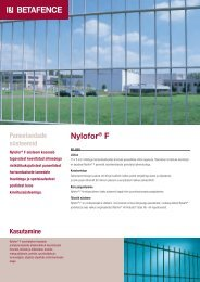 Nylofor® F - Fagel