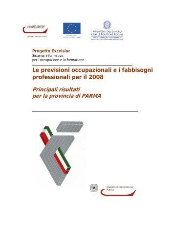 Le previsioni occupazionali e i fabbisogni professionali per il 2008
