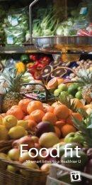 Food Fit: 10 Smart Bites to a Healthier U / 700 KB ... - Healthy U